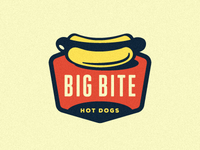 Big Bite Hot Dogs Logo