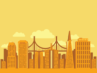 San Francisco Skyline - 'Must Have Wheat Thins' Campaign