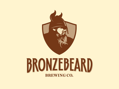 Bronzebeard Brewing Co. - Logo