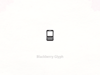 Blackberry Glyph