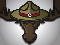 Mountie Moose