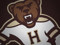 Hershey Skating Bear