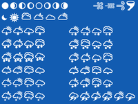 Final Set of Weather Icons