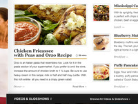 American Profile - Home Page Recipes Area