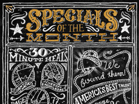 Specials of the Month - Tex Mex