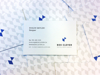 Box Clever Business Cards