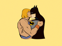 He-Man and Batman