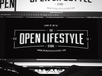 Open Lifestyle Store Re-Brand