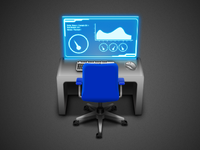Icon for dashboarding app 2