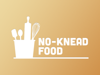 No Knead Logo - Fake Company for work.