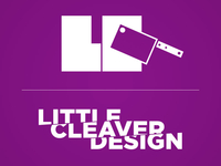 Little Cleaver Type Logo