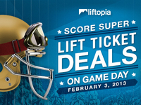 Super Bowl Promo for Liftopia