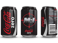 Coke Zero Mission Impossible:GP Can Design