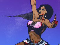 The Last Barfighter (female)
