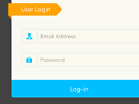 Simple Login Form (PSD Included)