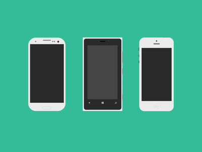 Download Mobile Flagships with PSD