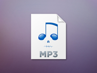 Hacked Music File Icon