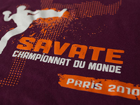 French boxing World Championship T-shirt
