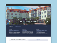 House Group - Home Page Design