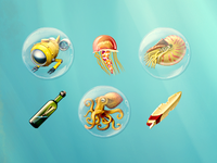 Underwater Icon Collection