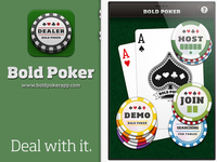 Bold Poker Intro Screen