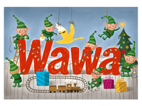Wawa Christmas Gift Card
