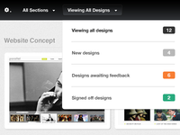Filtering Design Views