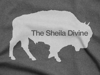 T-Shirt: The Sheila Divine | Buffalo logo