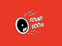 Sound Boom Logo Design