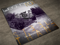 Skateboard Magazine Cover - West Hem Roll