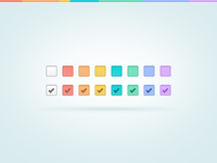 Color checkboxes