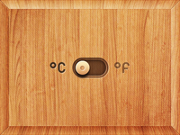 Wooden switch