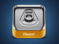 Cheers beer IOS icon