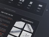 Phone template website