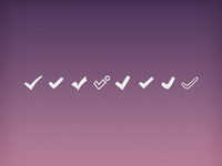 Check Mark Icons
