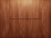 Hand-Crafted Wood Texture