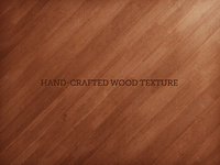 Hand-Crafted Wood Texture - Angled