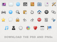 30 Toolbar Icons for Free