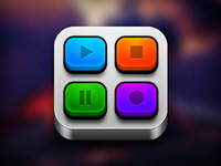 Video Player iOS Icon