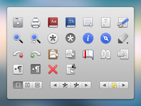 Final Draft  - Menubar Icons