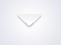 Ultra minimal mail icon