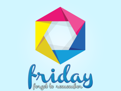 friday app logo.
