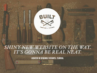 Built Splash Page