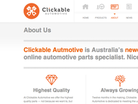 Clickable Automotive Web