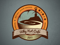 Why Not Café - New Logo Concept