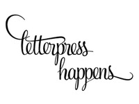 Letterpress Happens Logo