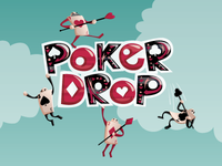 Poker Drop Title Screen