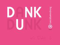 Dribbble Thanks to Henk Batenburg!