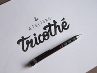 Logotype for Les Ateliers Tricothé.