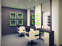 Beauty salon hair styling units in Podil spa